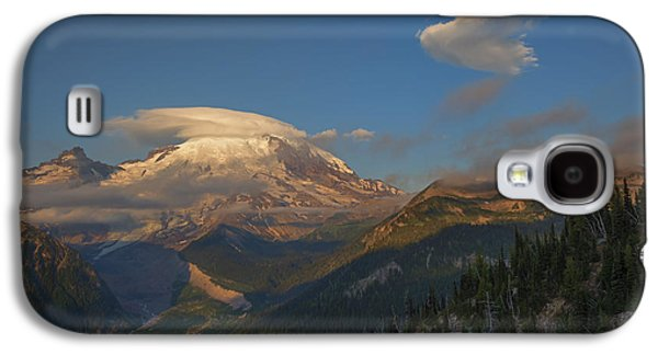 White River Galaxy S4 Cases - Rainier Capped Galaxy S4 Case by Mike  Dawson