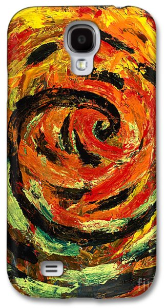 Disorder Paintings Galaxy S4 Cases - Rapid Cycling Galaxy S4 Case by Walt Brodis