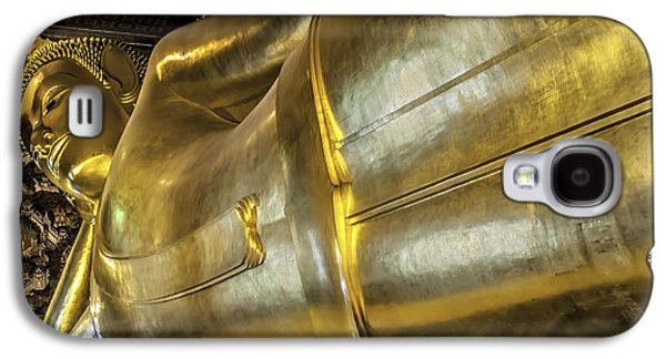 Religious Galaxy S4 Cases - Reclining Buddha Galaxy S4 Case by Maria Coulson