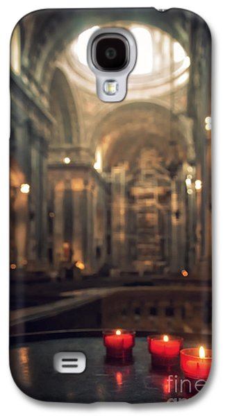 Red Candles Galaxy S4 Case by Carlos Caetano