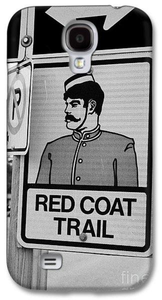 Sask Galaxy S4 Cases - red coat trail highway 35 weyburn Saskatchewan Canada Galaxy S4 Case by Joe Fox