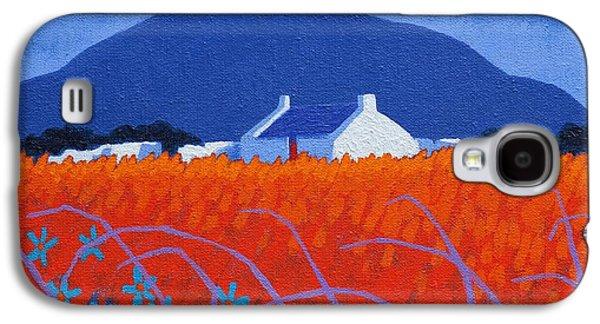 Impressionism Acrylic Prints Galaxy S4 Cases - Red Door  Galaxy S4 Case by John  Nolan