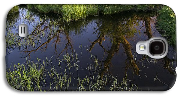 Contemplative Photographs Galaxy S4 Cases - Reflection Galaxy S4 Case by John Shaw