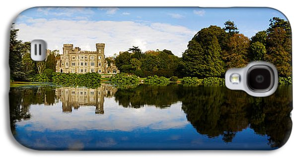 Garden Scene Galaxy S4 Cases - Reflection Of A Castle In Water Galaxy S4 Case by Panoramic Images