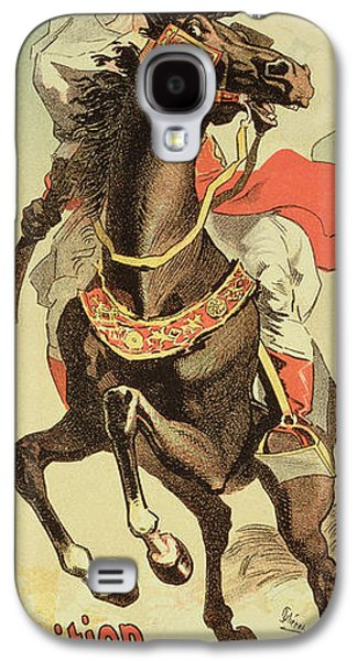Robes Drawings Galaxy S4 Cases - Reproduction Of A Poster Advertising An Galaxy S4 Case by Jules Cheret