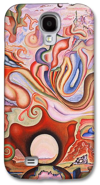 Incarnation Paintings Galaxy S4 Cases - Resurrection Galaxy S4 Case by Aswell Rowe