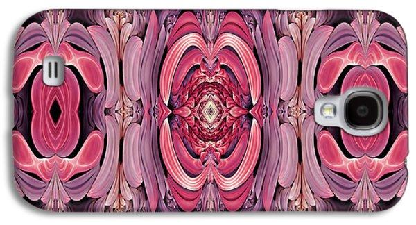 Youthful Galaxy S4 Cases - Retro Abstract Galaxy S4 Case by Georgiana Romanovna