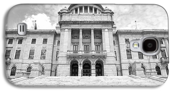 Historical Buildings Galaxy S4 Cases - Rhode Island State House Galaxy S4 Case by Lourry Legarde