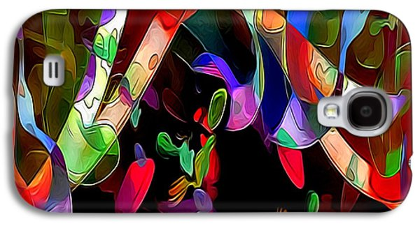 Abstract Forms Galaxy S4 Cases - Rhythm Galaxy S4 Case by Julie  Grace