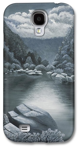 Arkansas Paintings Galaxy S4 Cases - Richland Creek  Galaxy S4 Case by Garry McMichael