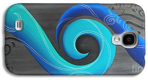 Aotearoa Galaxy S4 Cases - Rima Galaxy S4 Case by Reina Cottier