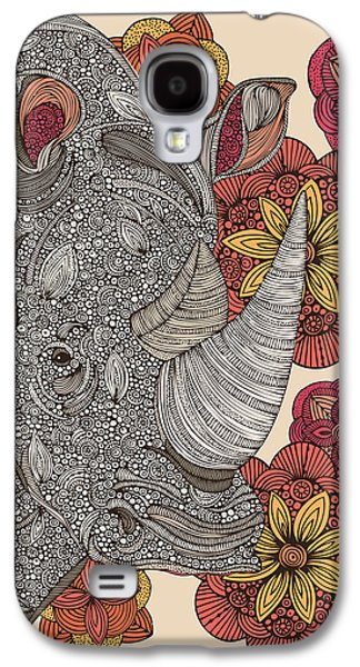 Illustration Photographs Galaxy S4 Cases - Rino Galaxy S4 Case by Valentina Ramos