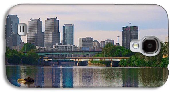 River View Galaxy S4 Cases - River View of Philadelphia Galaxy S4 Case by Bill Cannon