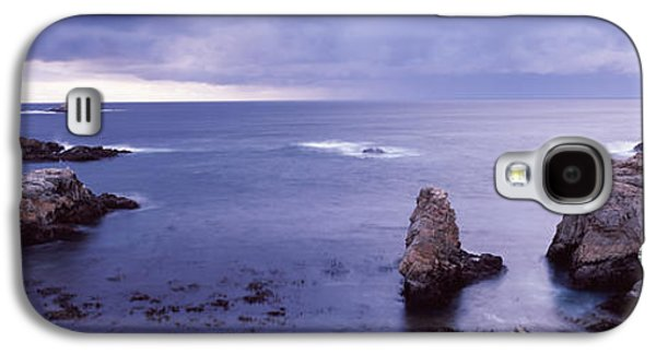 Big Sur California Galaxy S4 Cases - Rock Formations At The Coast, Big Sur Galaxy S4 Case by Panoramic Images