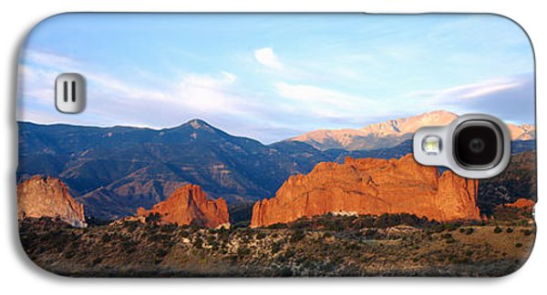 Garden Scene Galaxy S4 Cases - Rock Formations On A Landscape, Garden Galaxy S4 Case by Panoramic Images