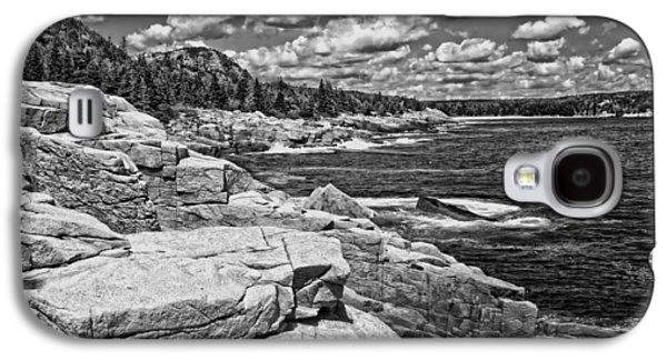 Rocky Summer Seascape Acadia National Park Photograph Galaxy S4 Case by Keith Webber Jr