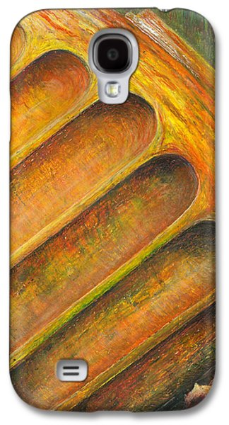 Abstracted Galaxy S4 Cases - Roman columns 1 Galaxy S4 Case by Joanne Davies