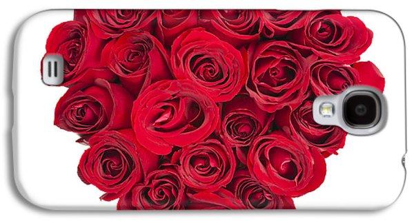Rose Heart Galaxy S4 Case by Elena Elisseeva