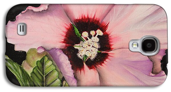 Althea Galaxy S4 Cases - Rose of Sharon Galaxy S4 Case by Karen Beasley