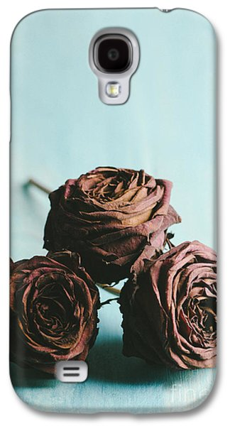 Light Pyrography Galaxy S4 Cases - Roses Galaxy S4 Case by Jelena Jovanovic