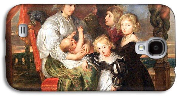 Peter Paul (1577-1640) Galaxy S4 Cases - Rubens Deborah Kip -- Wife Of Sir Balthasar Gerbier -- And Her Children Galaxy S4 Case by Cora Wandel