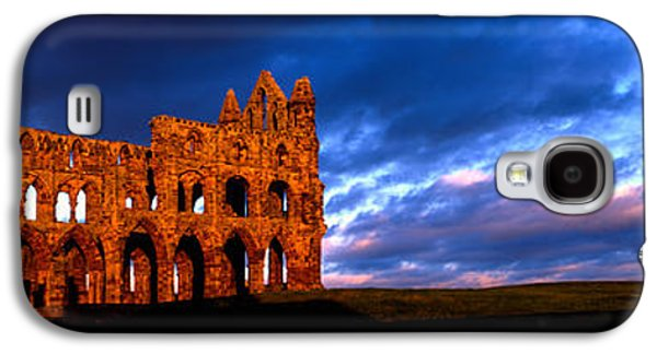Ruins Of A Church, Whitby Abbey Galaxy S4 Case by Panoramic Images