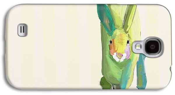 Child Galaxy S4 Cases - Running Bunny Galaxy S4 Case by Cathy Walters