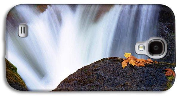 Autumn Leaf Galaxy S4 Cases - Rush Galaxy S4 Case by Mike Dawson