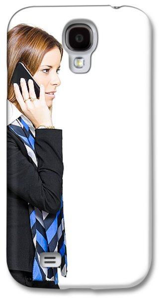 Sales And Marketing Business Woman Galaxy S4 Case by Jorgo Photography - Wall Art Gallery