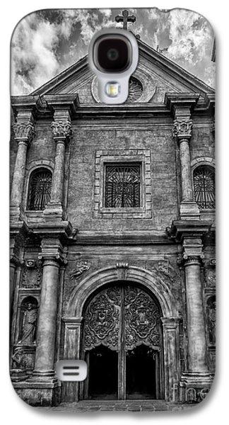 Pablo Galaxy S4 Cases - San Agustin Church  Galaxy S4 Case by Adrian Evans