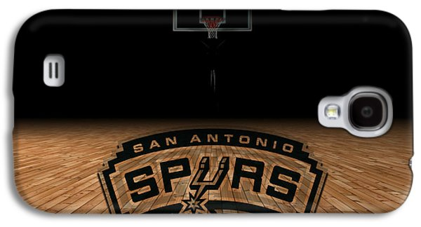 Nba Galaxy S4 Cases - San Antonio Spurs Galaxy S4 Case by Joe Hamilton