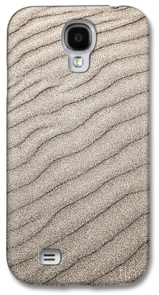 Wavy Galaxy S4 Cases - Sand ripples abstract Galaxy S4 Case by Elena Elisseeva