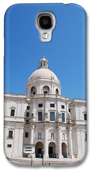 Religious Galaxy S4 Cases - Santa Engracia church in Lisbon Galaxy S4 Case by Luis Alvarenga