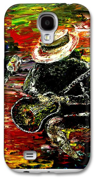 Pallet Knife Galaxy S4 Cases - Santana  Galaxy S4 Case by Mark Moore
