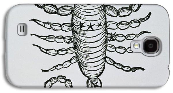 Scorpio An Illustration Galaxy S4 Case by Italian School