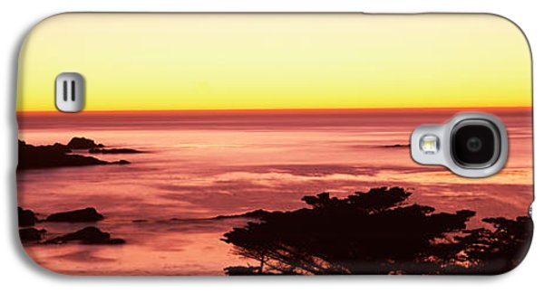 Point Lobos State Galaxy S4 Cases - Sea At Sunset, Point Lobos State Galaxy S4 Case by Panoramic Images