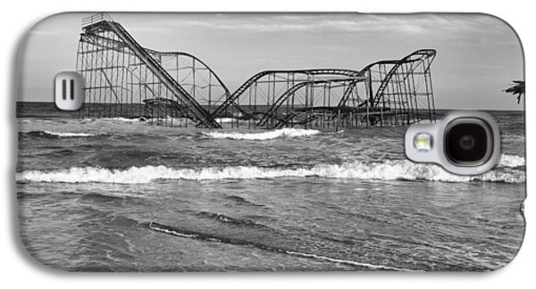 Jet Star Galaxy S4 Cases - Seaside Heights - Jet Star Roller Coaster Galaxy S4 Case by Niday Picture Library