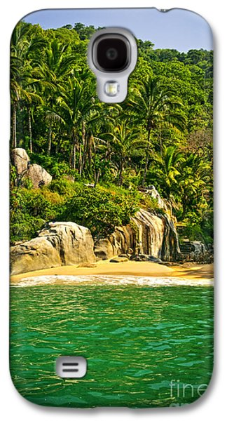 Secluded Beach  Galaxy S4 Case by Elena Elisseeva