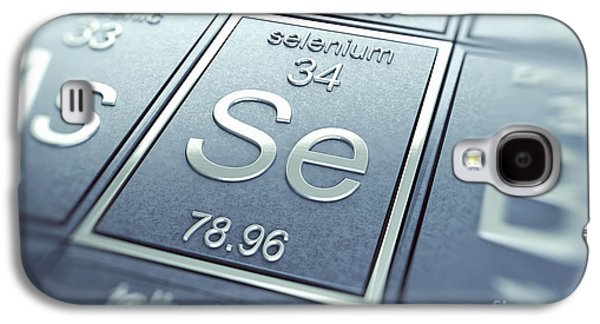 Selenium Galaxy S4 Cases - Selenium Chemical Element Galaxy S4 Case by Science Picture Co