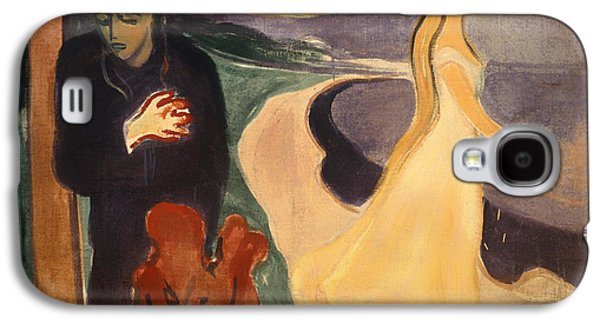 Divorce Galaxy S4 Cases - Separation Galaxy S4 Case by Edvard Munch