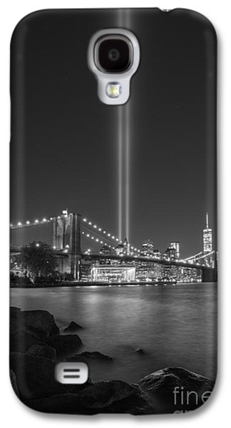 Manhatan Galaxy S4 Cases - September 11th at Dumbo NY Galaxy S4 Case by Michael Ver Sprill