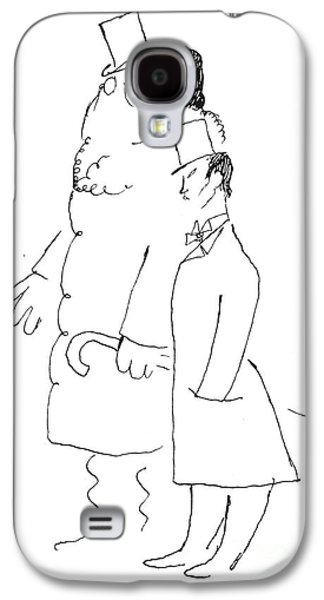 20th Drawings Galaxy S4 Cases - Sergei Pavlovich Diaghilev  Galaxy S4 Case by Granger
