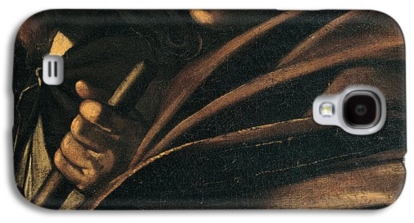Caravaggio Galaxy S4 Cases - Seven Works of Mercy Galaxy S4 Case by Caravaggio