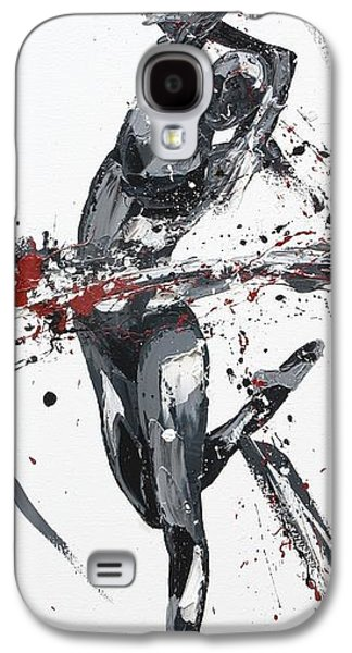 Abstract Movement Galaxy S4 Cases - Shadow Galaxy S4 Case by Penny Warden