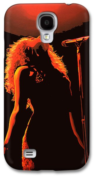 Laundry Galaxy S4 Cases - Shakira Galaxy S4 Case by Paul  Meijering