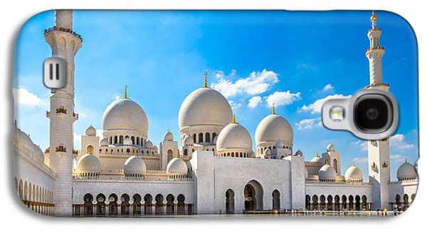 Religious Galaxy S4 Cases - Sheikh Zayed Mosque - Abu Dhabi - UAE Galaxy S4 Case by Luciano Mortula