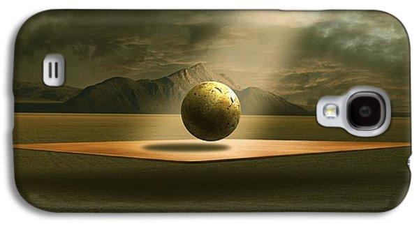 Surreal Landscape Mixed Media Galaxy S4 Cases - Shining Galaxy S4 Case by Franziskus Pfleghart