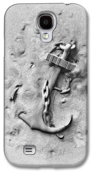 Relief Sculpture Galaxy S4 Cases - Ships Anchor Galaxy S4 Case by Tom Mc Nemar
