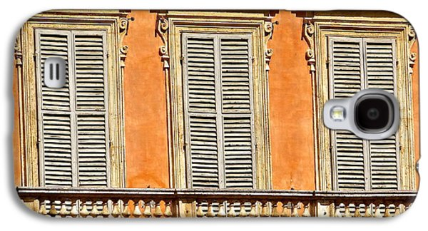 Sienna Italy Galaxy S4 Cases - Siesta In Siena Galaxy S4 Case by Ira Shander