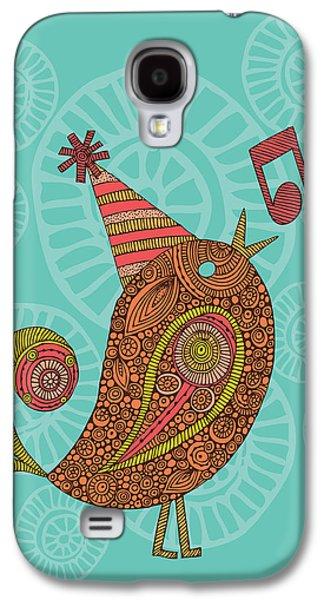Illustration Photographs Galaxy S4 Cases - Singing Bird Galaxy S4 Case by Valentina Ramos